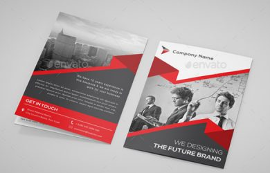 free editable funeral program template a bi fold brochure template ai illustrator format