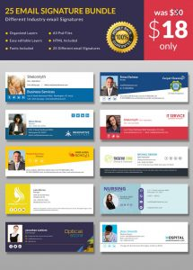 free email signature templates for outlook email sitnature mockeup x