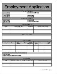 free employment application pdf ja