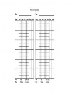 free employment application template blank cricket score sheet d