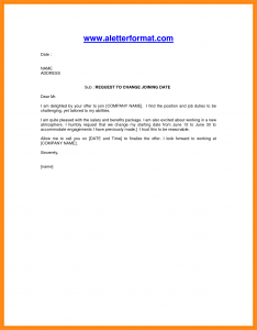 free employment application template joining letter for job job joining letter format doc