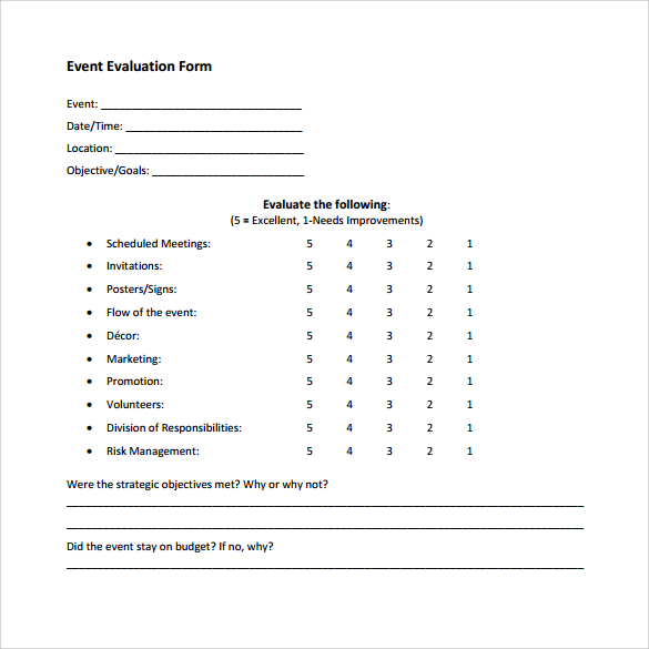 free estimate forms