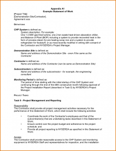 free estimate forms statement of work template