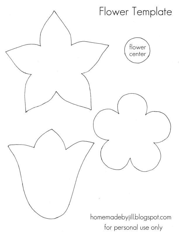 free flower templates