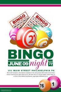 free fundraiser flyer templates bingo flyer template aaefcecdfa screen