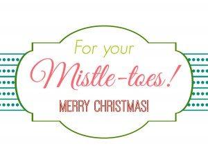 free gift tag templates mistletoes half edited x