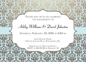 free halloween invite templates engagement party invitation card