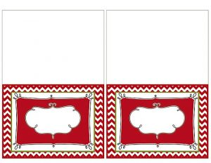 free holiday card templates free printable christmas place cards