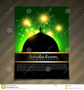 free holiday flyer templates islamic brochure deesign vector festival template background