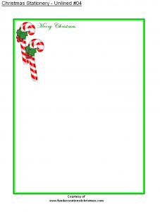 free holiday stationery templates free printable christmas stationery