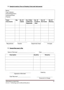 free inventory template k to mechanicaldraftinglearningmodule