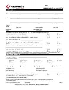 free job application template job application template jvwithmenow free job application template