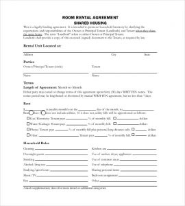 free lease agreement template word free room rentl agreement template pdf