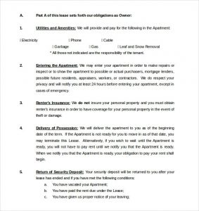free lease agreement template word rental agreement template free word excel pdf documents with regard to lease agreement template word