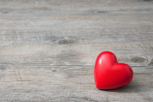 free linkedin background bigstock red heart on wooden background