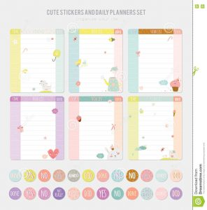 free memo template cute note template notebook paper stickers set vector funny animals illustrations good kids fun background