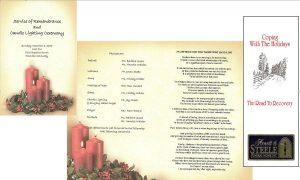 free memorial service program template free sample memorial service programs
