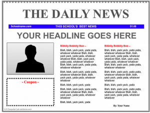 free newspaper template free newspaper template drrkkdt