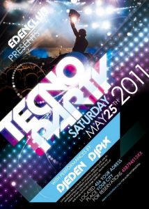 free party flyer templates free poster flyer template psd design