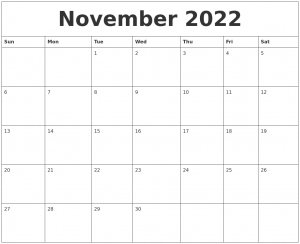 free photo templates november free printable calendar templates