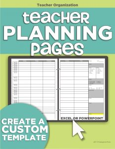 free powerpoint templates for teachers teacher planning binder
