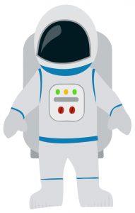 free preschool newsletter templates astronaut