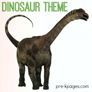 free preschool newsletter templates dinosaur theme