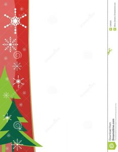 free printable banner templates for word christmas border template royalty free stock image image with christmas letter template powerpoint