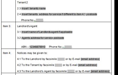 free printable basic rental agreement qld tenancy sample