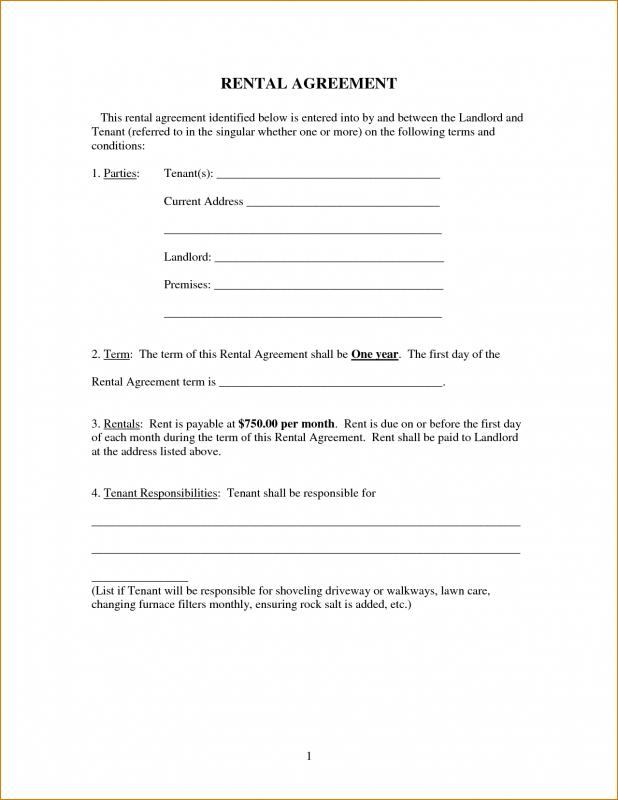 It's just a graphic of Sizzling Free Printable Rental Lease Agreement Templates