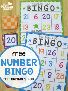 free printable bingo cards with numbers free number bingo for this reading mama