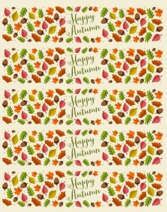 free printable candy bar wrappers templates fall