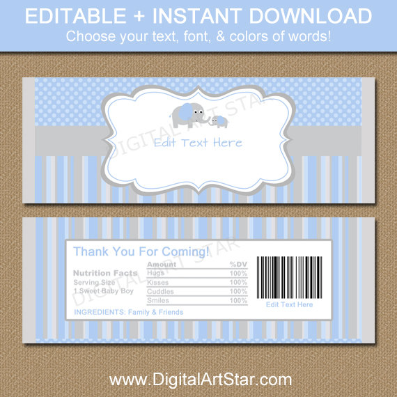 free printable candy bar wrappers templates