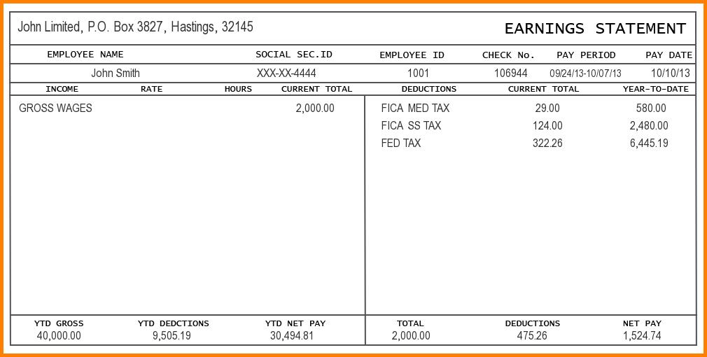 free printable check stubs