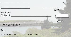 free printable checks template printable check template ocean view