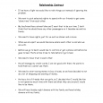 free printable construction contracts relationship contract d