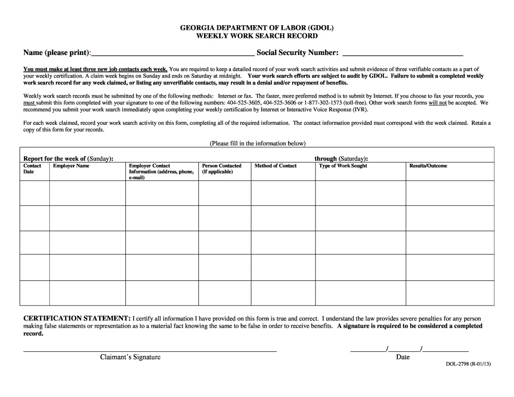 free printable employment verification form