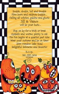 free printable halloween invitations for adults thanksgiving party pumpkins