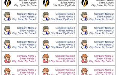free printable label templates for word addressb