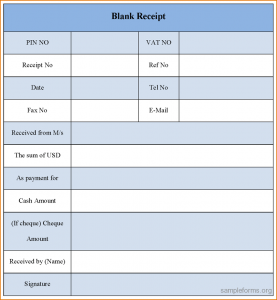 free printable medical release form receipt forms blank receipt form