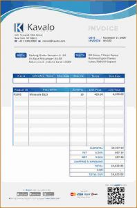 free printable mileage log sample invoices example