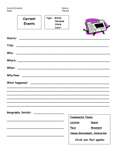 free printable monthly budget worksheets current events worksheet template