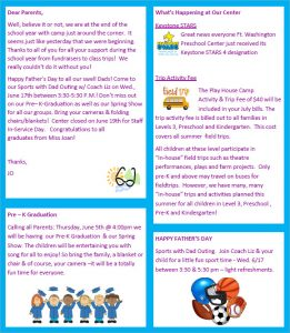 free printable newsletter templates free printable preschool newsletter