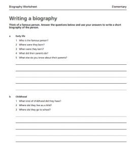 free printable obituary templates writing a biography