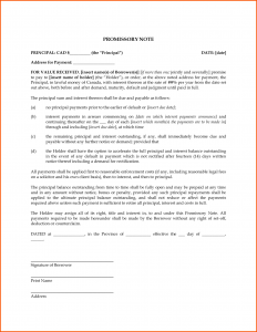free printable promissory note blank promissory note template e