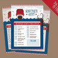 free printable time sheets pdf scavenger hunt nautical download lg