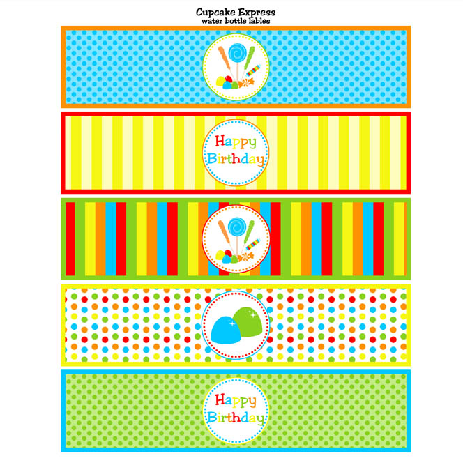 free printable water bottle labels for baby shower