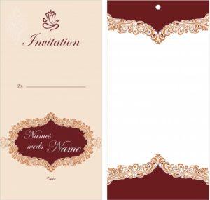 free printable wedding invitation templates download create wedding card elegant wedding invitation card design template free download template