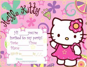 free printable wedding invitation templates download hello kitty party invitations blank