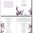 free printable wedding program templates free printable program templates